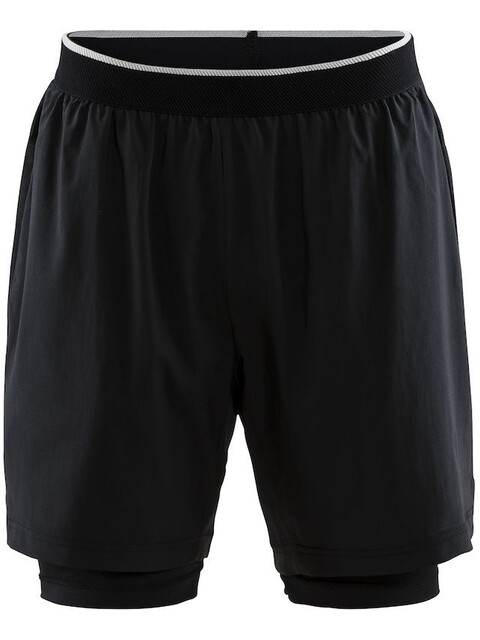 Craft Charge - Pantalones cortos running Hombre - negro